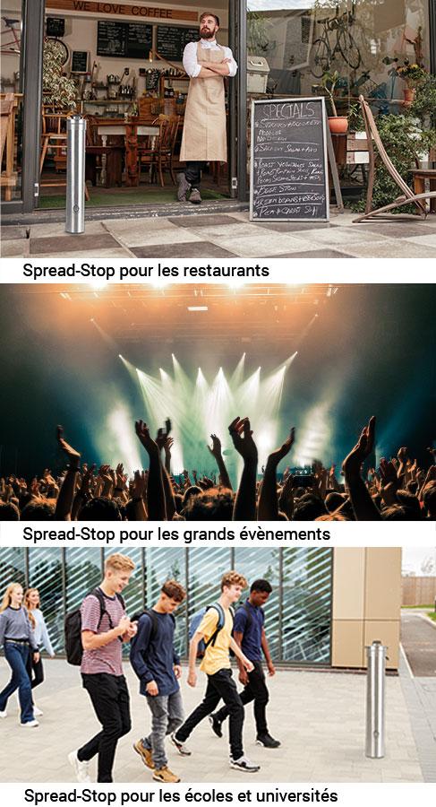 Spread-Stop pour les restaurants…